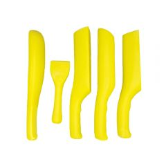 Lead Dresser Set: 5 Piece Plastic Set For Roofing & Lead Working