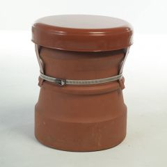 """Madcowl Chimney Capping Cowl Vents Disused Chimney Pots Up To 11"""" 285mm Terracotta - from About Roofing Supplies Limited"""