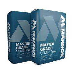 Mannok Mastergrade Cement (Plastic Bag) 25kg