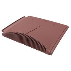 Manthorpe GTV IP Interlocking Concrete Plain Tile Vent Tile - Terracotta / Grey / Brown / Antique Red - from About Roofing Supplies Limited