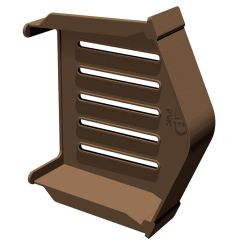 Manthorpe Smart Dry Verge System GDV EC BR Eaves Closer Brown  - from About Roofing Supplies Limited