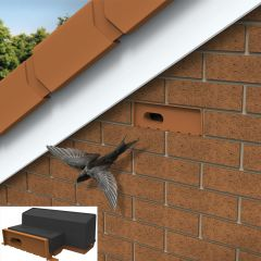Manthorpe GSWB Swift Brick Nest Box For Enabling Nesting Swifts To Nest In Houses - from About Roofing Supplies Limited