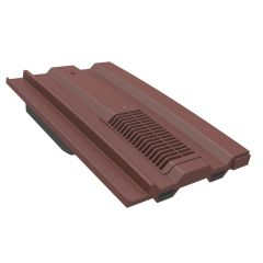 Manthorpe GTV MC Mini Castellated Roof Tile Vent Red / Grey / Terracotta Red / Brown - from About Roofing Supplies Limited