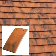 Marley Eternit Ashdowne Single Camber Clay Handcrafted Plain Roof Tile - from About Roofing Supplies Limited