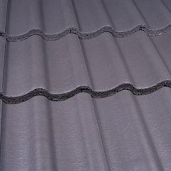 Marley Mendip Interlocking Concrete Roof Tile Smooth Grey