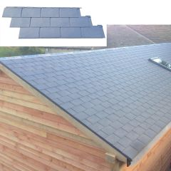 NoviSlate Polymer Slate Roof Panel - from About Roofing Supplies Limited