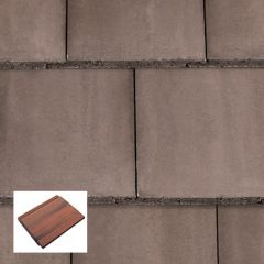 Redland Mini Stonewold Flat Profile Concrete Roof Tiles - from About Roofing Supplies Limited