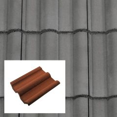 Redland Double Roman Concrete Interlocking Roof Tiles - from About Roofing Supplies Limited