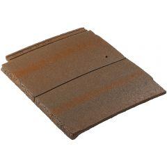 Redland DuoPlain Interlocking Concrete Plain Roof Tiles Rustic Brown