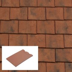 Redland Rosemary Craftsman Machine Made Clay Plain Roof Tile - from About Roofing Supplies Limited