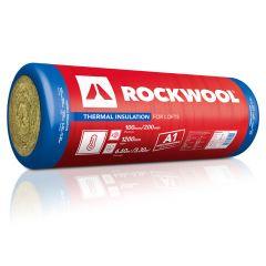 Rockwool Thermal Insulation Rolls 2750mm x 1200mm x 100mm 6.6m/2 Pack