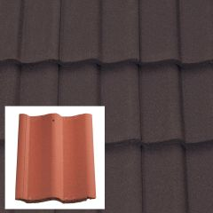 Sandtoft Double Pantile Concrete Interlocking Roof Tiles - from About Roofing Supplies Limited