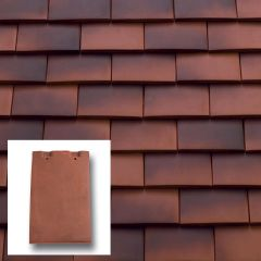 Sandtoft Humber Clay Machine Made Plain Tile - from About Roofing Supplies Limited