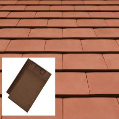 Sandtoft 20/20 Interlocking Clay Roof Tile - from About Roofing Supplies Limited