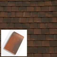 Sandtoft Alban Handcrafted Clay Plain Roof Tile - from About Roofing Supplies Limited