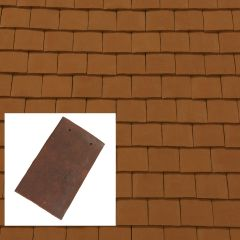 Sandtoft Barrow Handcrafted Clay Plain Roof Tile - from About Roofing Supplies Limited