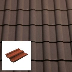 Sandtoft Double Roman Concrete Interlocking Roof Tiles - from About Roofing Supplies Limited