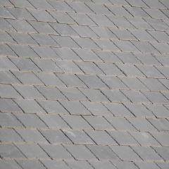 Canteverde Grey Green Preholed Brazilian Natural Slate 500mm x 250mm - from About Roofing Supplies Limited