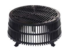 RynoDrain TPS/LG Leaf Guard For Ryno TPS Flat Roof Sump Flange Rainwater Outlets - from About Roofing Supplies Limited