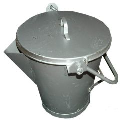 V Lip Compound Bucket with Lockable Lid 3 Gallon - from About Roofing Supplies Limited