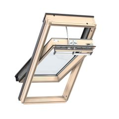 Velux GGL SK06 2070 Centre Pivot Roof Window White Painted Internal Finish - from About Roofing Supplies Limited