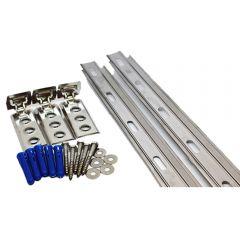 Stainless Steel Wall Starter Kit 2.4 Metre