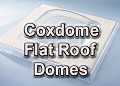 Coxdome Flat Roof Domes - About Roofing Supplies