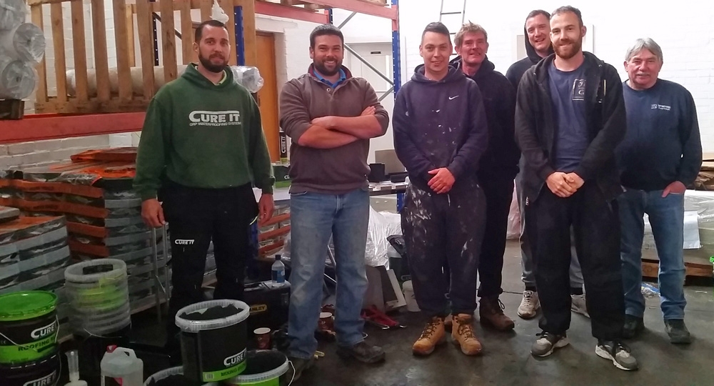 Cure It Trade Day at About Roofing Supplies Redhill branch 02.05.18 | About Roofing Supplies