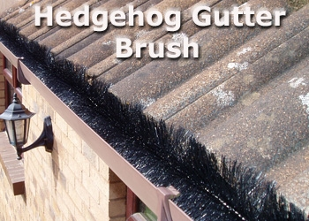 Hedgehog Gutter Guard Brush | About Roofing Supplies