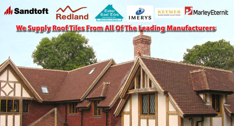 About Roofing Supplies supply roof tiles from all the leading manufacturers - Marley, Sandtoft, Tudor, Redland & Imerys
