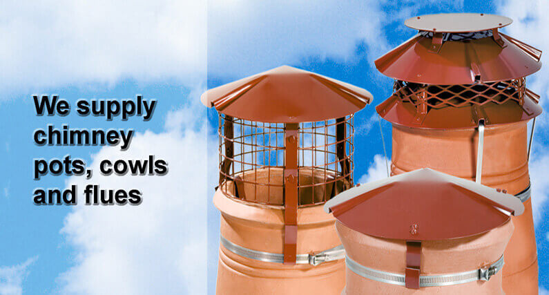 Chimney Pots, Cowls & Flues | About Roofing Supplies