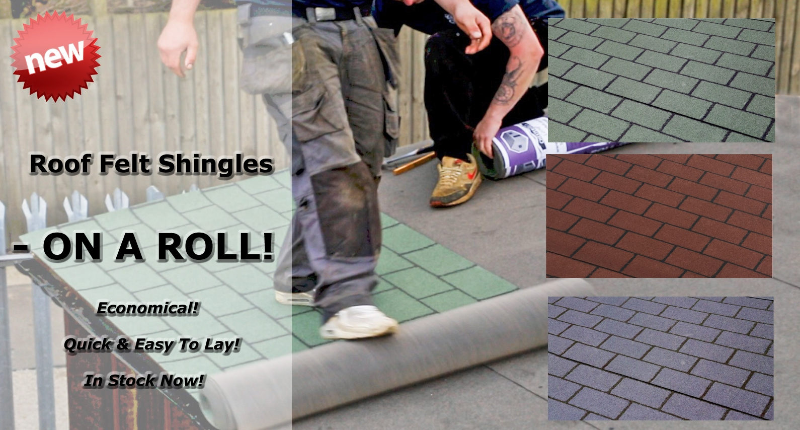 Roll On Felt Shingles at About Roofing Supplies