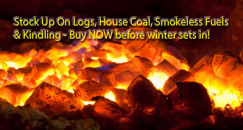 Winter Fuels - Logs And Coal | About Roofing Supplies