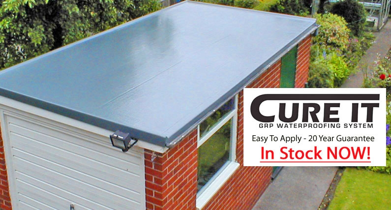 Cure It GRP Flat Roofing Products - About Roofing Supplies