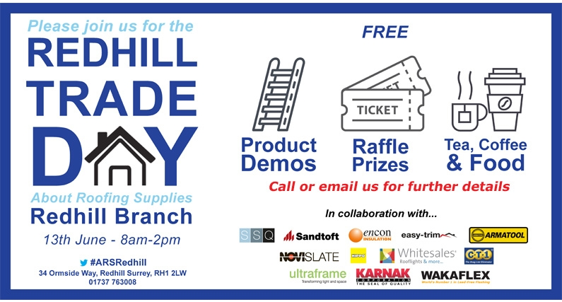About Roofing Supplies Redhill Trade Day 13.06.18