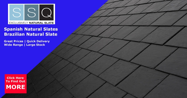SSQ Spanish & Brazilian Natural Roof Slates | About Roofing Supplies