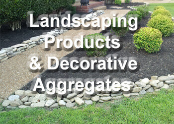 Landscaping Products & Decorative Aggregates - About Roofing Supplies