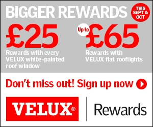 Velux Rewards Promotion Sept Oct 2017 - About Roofing Supplies