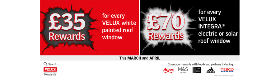 Velux Rewards Q2 2020 Promotion | About Roofing Supplies