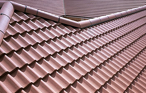 Which roof tiles are suitable for a low pitch roof?